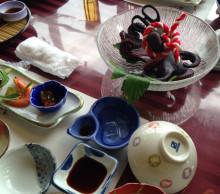 新年会食事2